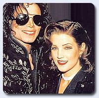资料图片:杰克逊第一任妻子--杰克逊与普莱斯利