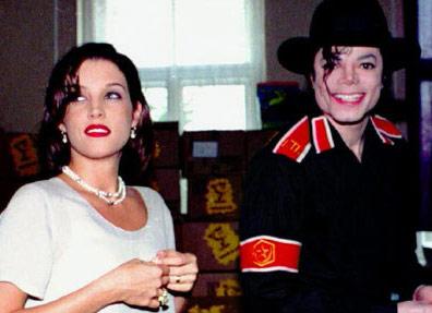 资料图片:杰克逊第一任妻子--让人羡慕的一对