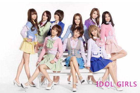 少女偶像组合Idolgirls即将正式出道(附图)