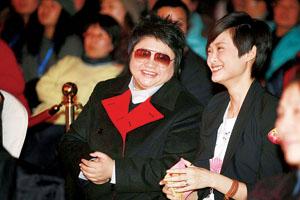 09北京流行音乐典礼 韩红称听李宇春的歌长大