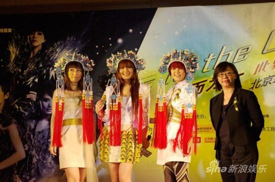 S.H.E华丽姿态亮相北京首体个唱门票开始预购