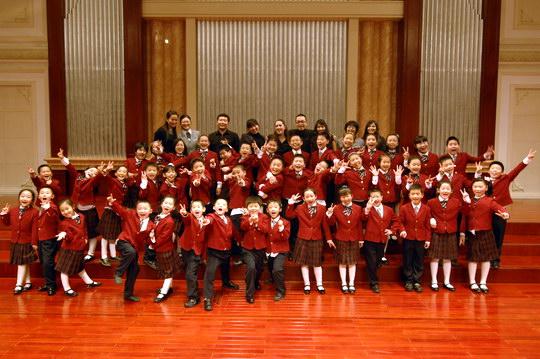 最特别的六一礼物--童声合唱团音乐厅献唱图片