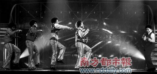 """《颤栗现场》纪念杰克逊五""""MJ""""齐狂欢(图)"""