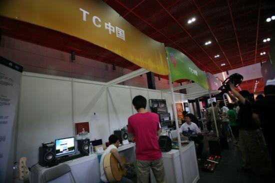 首届数字音乐及多媒体产品交易会吸引到600多家知名企业竞相参展