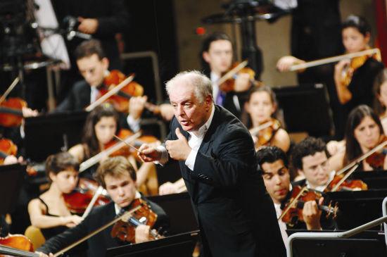 巴伦博伊姆与西东合集管弦乐团