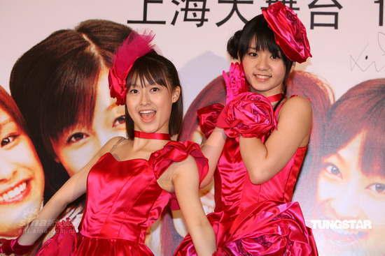 组图:早安少女组上海筹备个唱中国成员打头阵