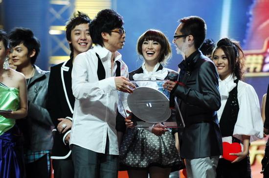 图文:2008我型我秀总决赛--黄中原获殊荣