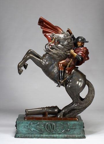 图文:杰克逊拍卖大全--拿破仑塑像