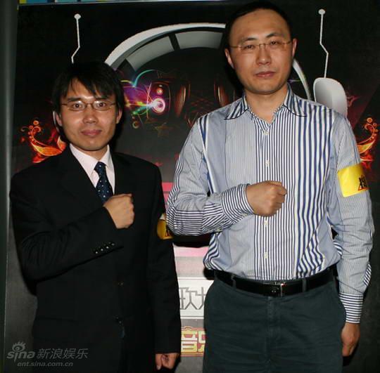 图文:反哺歌坛合辑计划启动--王长田与孟波