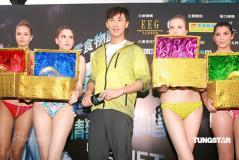组图:林峰与比基尼辣妹亲密拥吻艳福无边