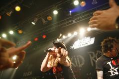组图:SKIDROW震撼京城上演重金属教学演出