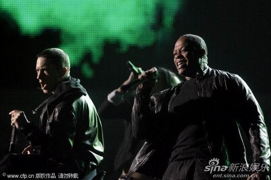 格莱美现场 痞子阿姆与Dr.Dre