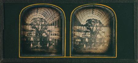 1851年水晶宫的立体照片