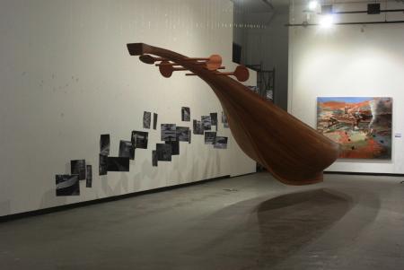 中国原木雕刻出的爱琴海式独木舟