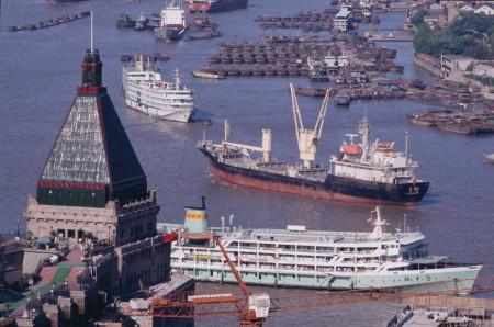 1982年,上海外滩