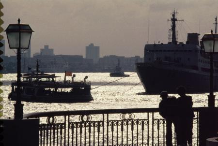 1994年,上海外滩