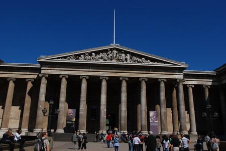 大英博物馆外景