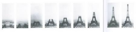 """细心的法国摄影师,记录下了铁塔""""长高""""的全过程"""