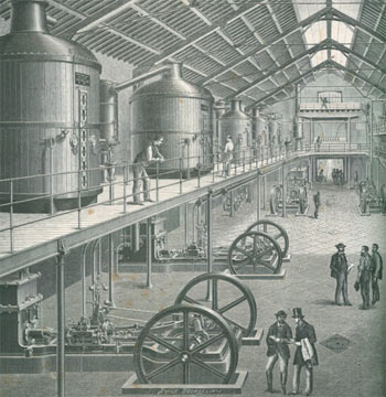 1878年巴黎世博会机器馆,郭嵩焘曾去参观多次