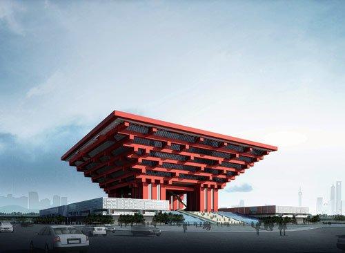 上海世博会中国馆:东方之冠