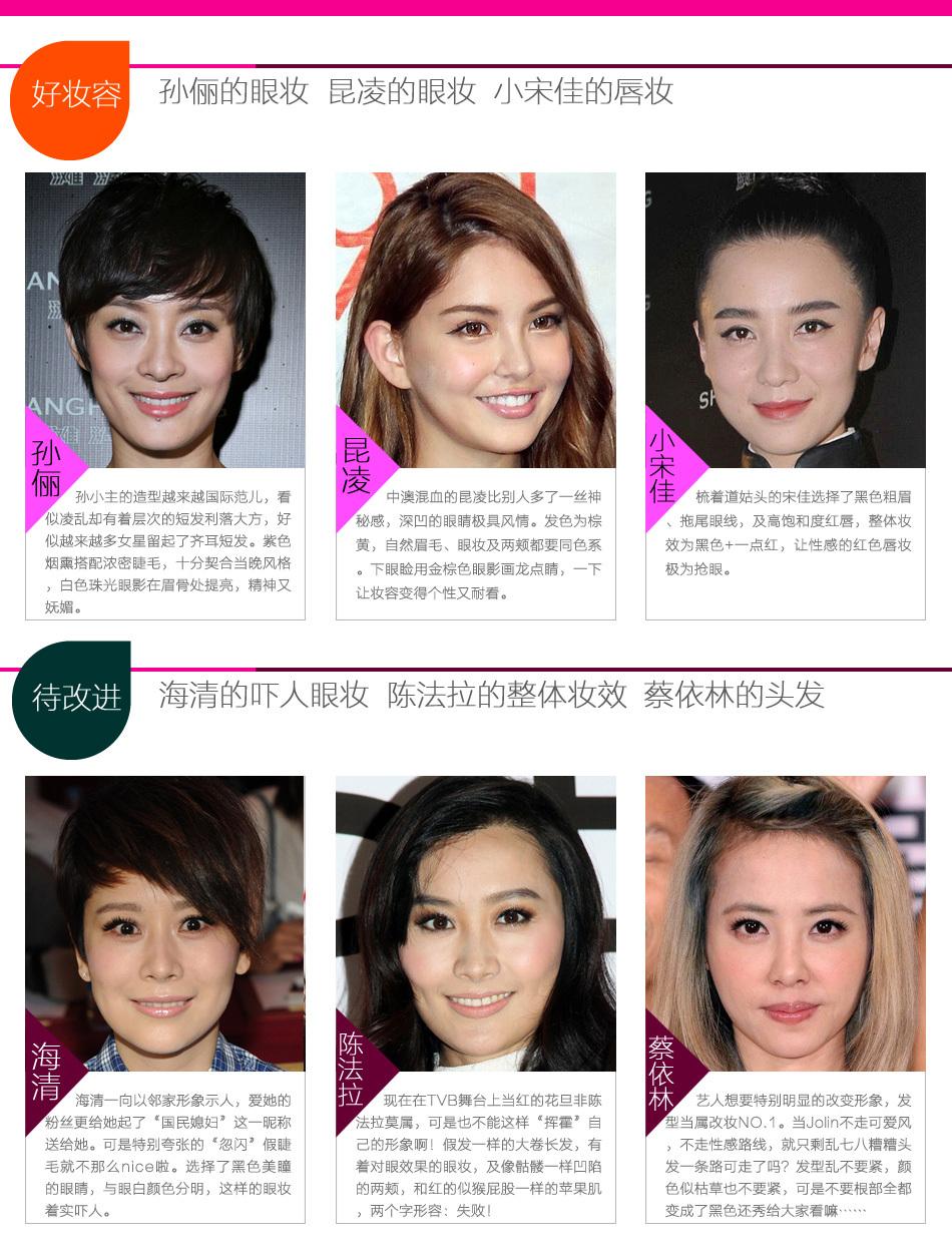 一周女星妆榜样VOL.009_新浪时尚_新浪网