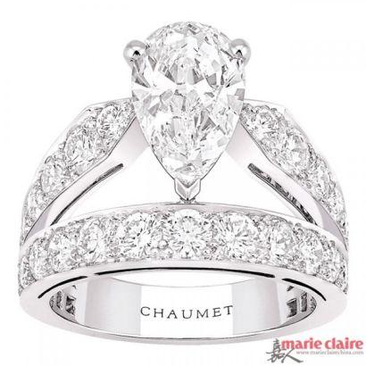推荐珠宝:Chaumet尚美巴黎Joaillerie皇冠戒指