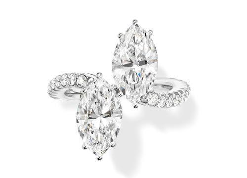 独特的3d立体结构使得钻石从任意角度焕发极致璀璨