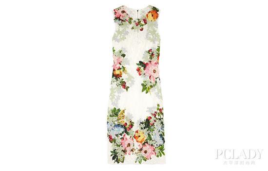 杜鹃 刺绣花朵长裙 镂空手镯