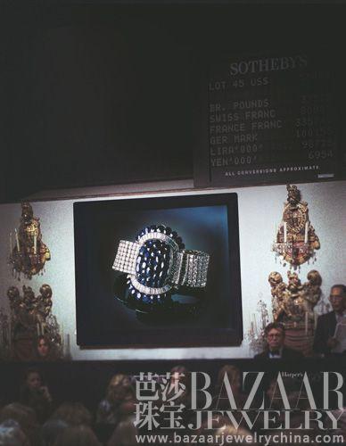 【新珠宝】籍由拍卖风云 解读佳人珠宝人生
