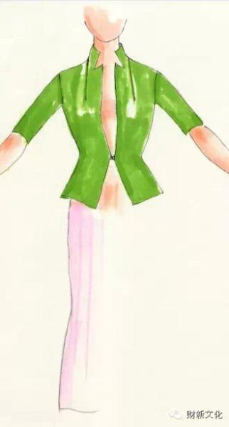 飞镖 省道:投向身体心脏的服装 设计师 女性 时尚protrekv飞镖表图片