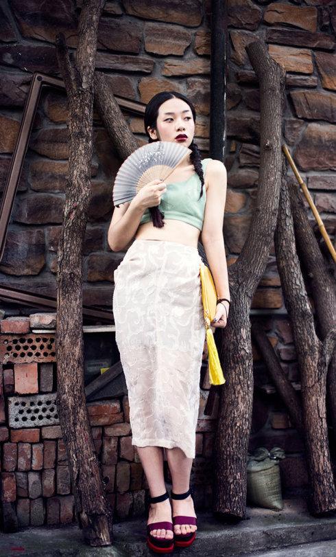 【雌和尚搭配】东瀛妆和中国风-写实和装饰主义