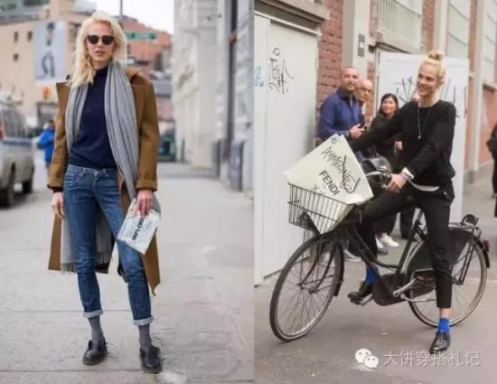 不想露脚踝?这几组时髦的鞋子+裤装组合你不得不会 - Modish饼 - Modish饼s STYLE BLOG