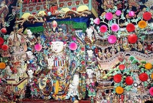 精湛古朴塔尔寺壁画(组图)