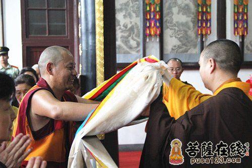 对佛陀的敬意