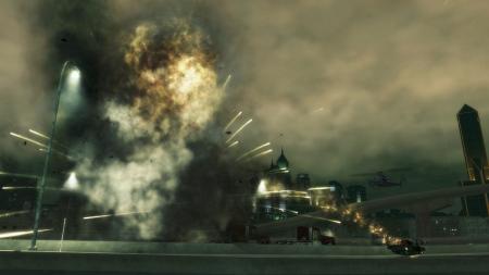 爆炸的物理效果很不错
