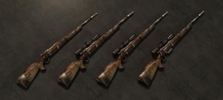 《辐射:新维加斯》改造后的步枪