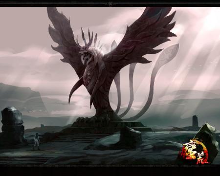 《蛮荒》截图欣赏之凤凰祭坛