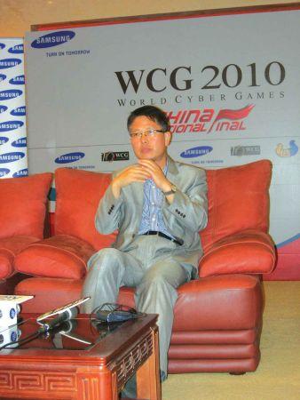 WCG赛事总主办方,韩国ICM总裁金亨锡