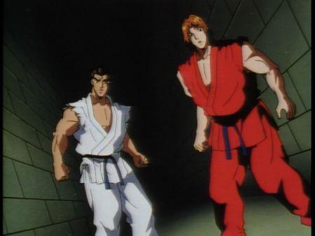 街霸隆和肯的头像