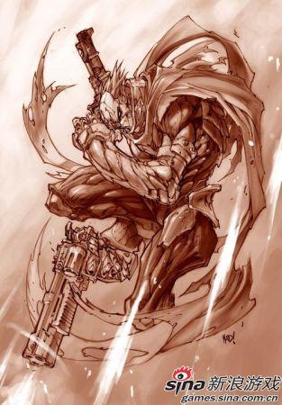 《暗黑血统2》人物设定图二