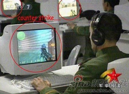 网游有助提高官兵实战能力