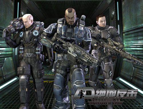 电影级动作枪战网游《绝地反击》