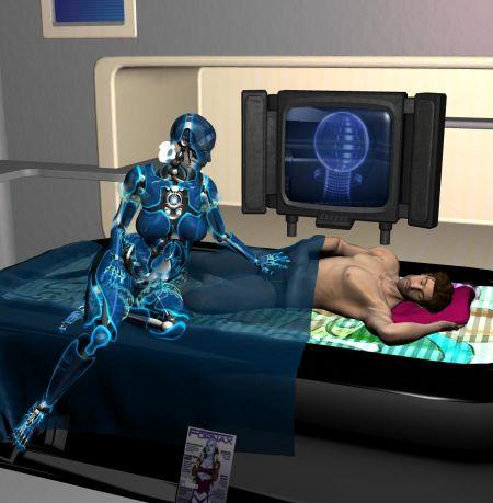 盘点十大性感美女机器人