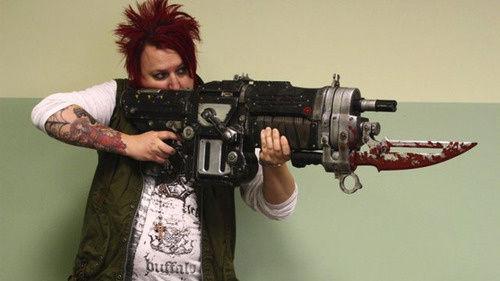 《战争机器3》超帅气真实比例枪模