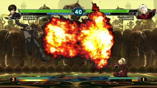 《拳皇13》游戏画面