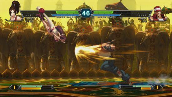 《拳皇13》最新游戏画面