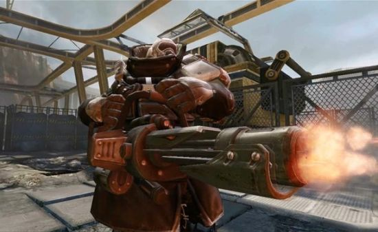 《全球使命》大电影之经典兵器 加特林机枪图片