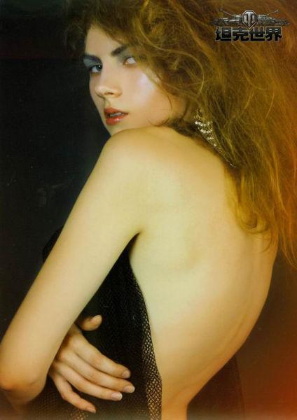 美女模特 竖