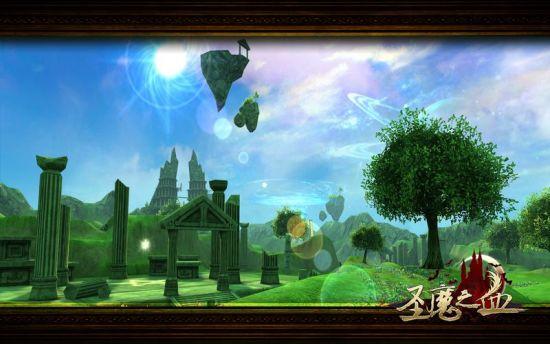 图6:唯美的圣魔大陆
