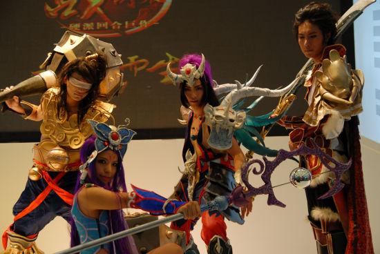cosplay表演精彩层出不穷